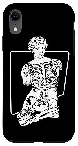 iPhone XR Venus Skeleton Gift - Aesthetic Vaporwave Soft Grunge Case