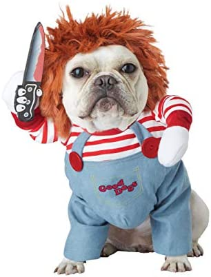 California Costumes Pet Deadly Doll Dog