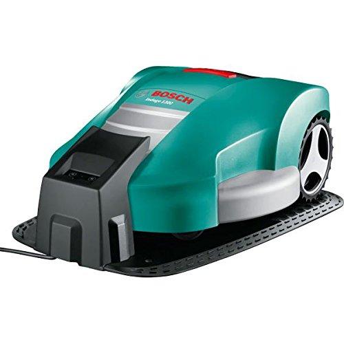 Bosch 06008A2200 Indego 1300 Round RoboticLawnmower - 26cm Cutting Width, 20-60cm Cutting Height