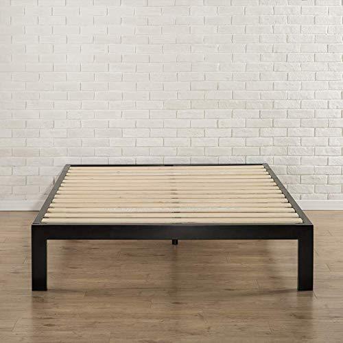 Brayden Studio Black Avah Platform Wooden Bed