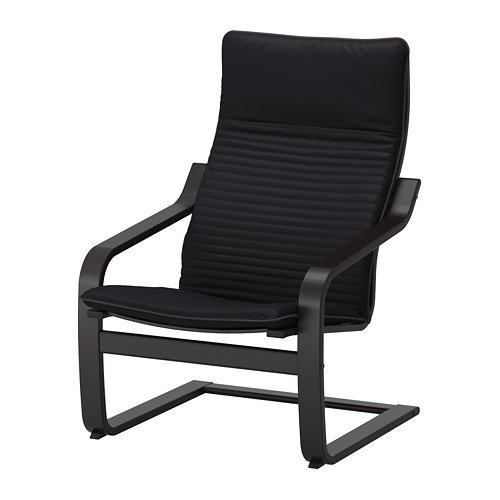 Ikea Poang Chair Armchair with Cushion, Cover and Frame