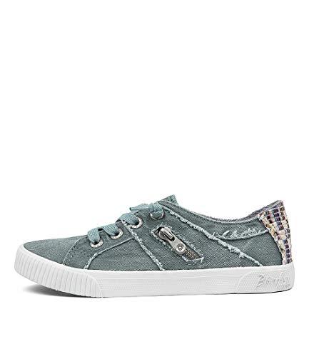 Blowfish Malibu Women's Fruit Fashion Sneaker Dusty Blue 10 Medium US