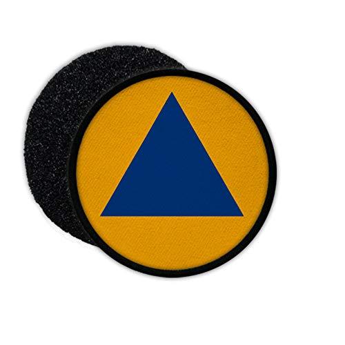 Copytec Patch Zivilschutz Deutschland Katastrophenschutz Wappen KatS Bunker blau #30071