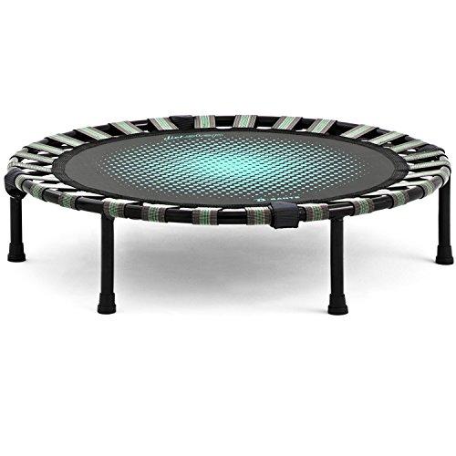 B-SANTE(ビサンテ) トランポリン ダイエットステップ 静音 ゴム式 直径93cm 家庭用 子供用 大人用