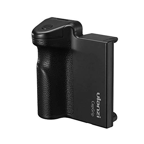 Zwbfu CapGrip 3 en 1 Selfie Handle Grip Control Remoto vibración con PU Grip para fotografía móvil Compatible con teléfonos intentes Android iOS