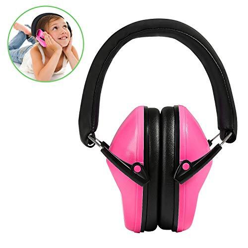Orejeras para niños, Ballery Orejera Protección Auditiva Auriculares Defensores Cancelación de Ruido para Disparo, Aprendizaje, Dormir, Concierto para Niños ⭐