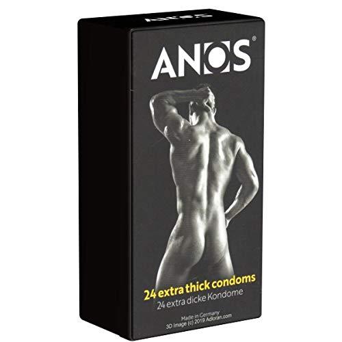 Anos Extrastark 24 Kondome für sicheren Analverkehr