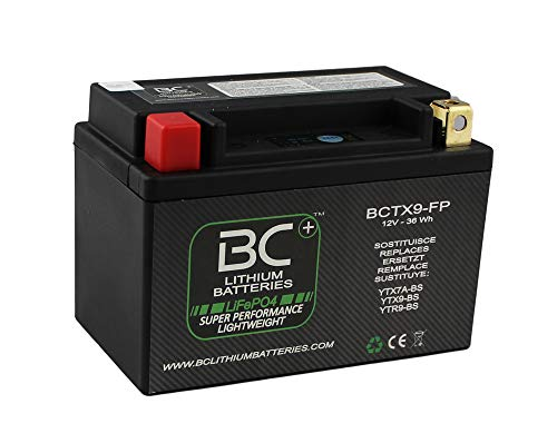 BC Lithium Batteries BCTX9-FP Batería Litio para Moto LiFeP
