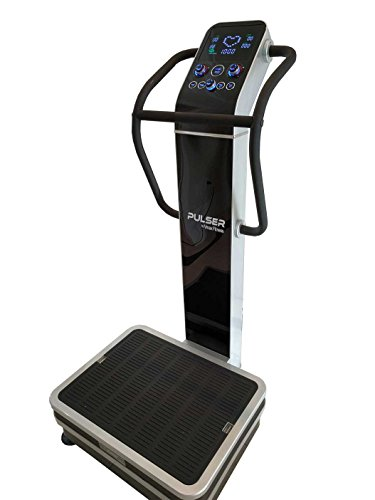 Vmax Fitness Pulser 2 Whole Body Vibration Machine; Newest Dual Vibration, 3 Vibration Modes; Premium Home; 440 Lb Limit, Rear Wheels