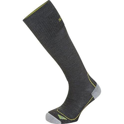 Salewa Trek Balance Knee SK - Chaussettes pour Homme, Couleur Gris, Taille 44-46
