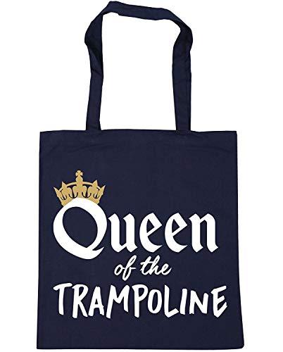 WENNUNA Koningin van de Trampoline Trampolining Tote Shopping Gym Beach Bag