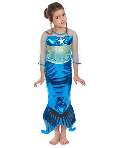 Déguisement sirène fille - 10 - 12 ans (L)