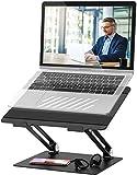 POVO Supporto per Portatile, Supporto PC Portatile Multi-Angolo Regolabile per 10-17 Pollici Laptop Inclusi MacBook, HP, dell, Lenovo, Huawei Notebook