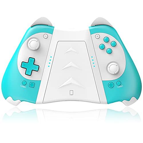 KINGEAR Contrôleurs Switch pour Nintendo/Switch Lite Console, Contrôleur pour Manette Joycon Switch, Joli cadeau pour femme, cadeau pour homme