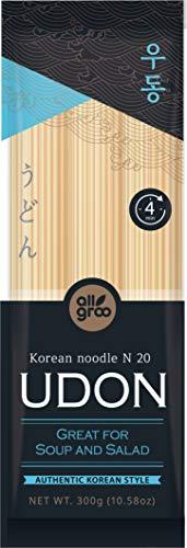 Allgroo (Almho) Fideos Estilo Coreano (Udon) 300 g