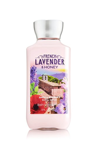 Bath and Body Works French Lavender Honey Lotion 8 Ounce Full Size