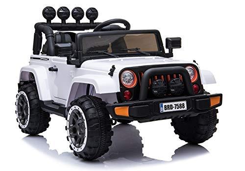 Toyas ATAK Off Road SUV Jeep Kinderauto Kinderfahrzeug Elektrofahrzeug Geländewagen 2 x 25 W Motor (BRD-7588w)