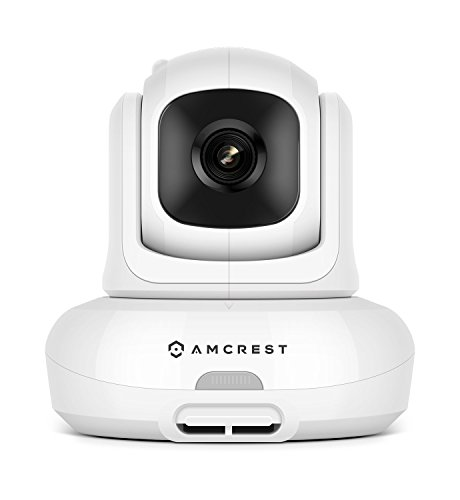 Amcrest Add-on Camera Unit for Amcrest AC-2, Video Baby Monitor Camera, Two-Way Audio, Motion Detection, Pan/Tilt/Zoom, Temperature Sensor, Night Vision, (AC-2-C)