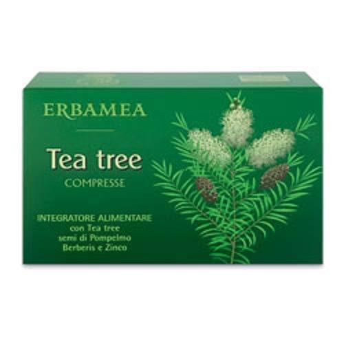 TEA TREE 30 compresse con semi di pompelmo e zinco, benessere vie respiratorie