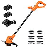 Best Cordless Weed Trimmers - MAXLANDER Cordless String Trimmer / Weed Wacker 10 Review