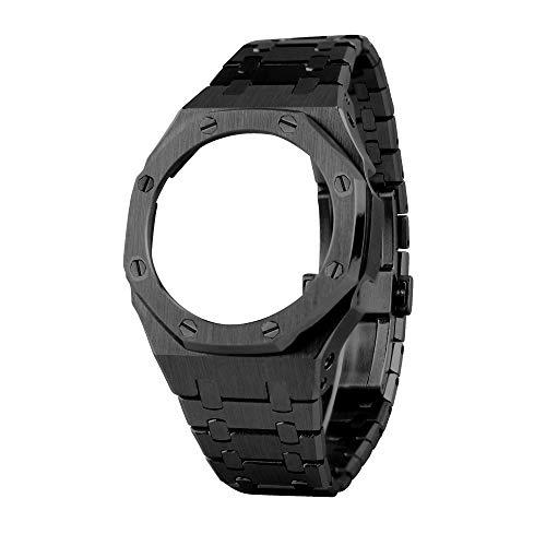 3rd Generation GA2100 - Correa de metal para reloj Casio G-Shock GA-2100/GA-2110, Sin piedras preciosas,
