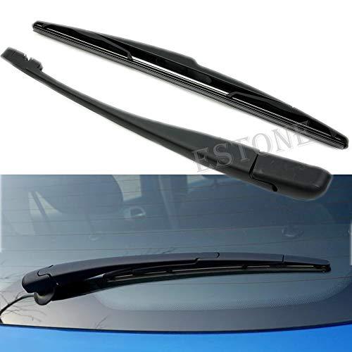 SimpleLife Brazo del limpiaparabrisas del Parabrisas Trasero del Coche Cuchilla para Peugeot 206