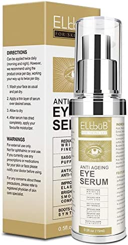 Anti Ageing Eye Serum Eye Cream Anti Wrinkle Eye Serum for Puffy Eyes Dark Circles Eye Bags product image
