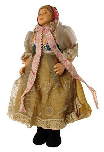 Bambole vintage dell'Europa orientale souvenir bambole anni '50