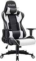 Homall Gaming Stuhl Racing Computerstuhl Ergonomischer Bürostuhl Gamer Stuhl Höhenverstellbarer Schreibtischstuhl PC...