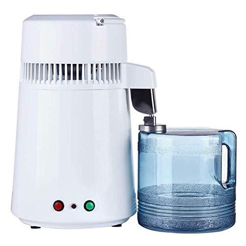 Wasser-Destillierapparat, Destillieren reines Wasser Maschine for das Heim Aufsatz- Tabelle Desktop 4L Destilliertes Wasser Making Machine ZHNGHENG