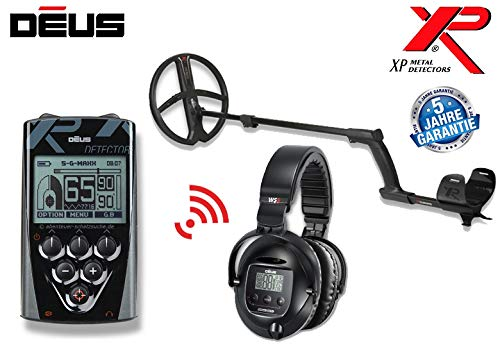 XP DEUS X35 28 RC WS5 Komplett-Set