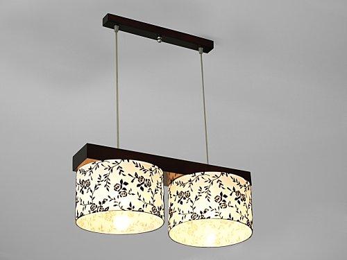 wero Design Lustre Suspension Lampe suspension de Malaga de 007, Motif fleurs, E27 120.0 wattsW