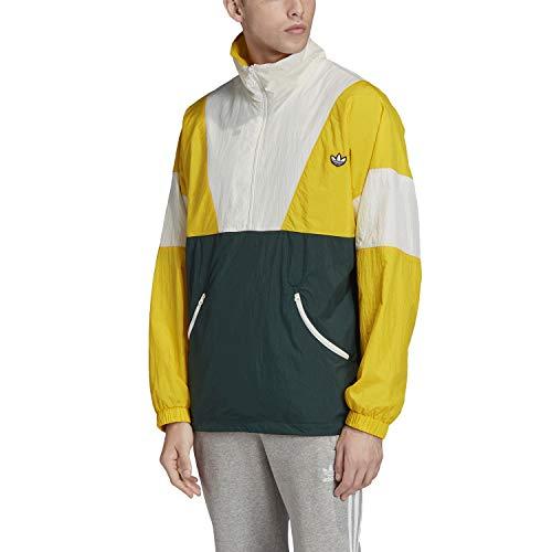 adidas Herren Sport Jacket TRACK TOP, Yellow, M, FM2202