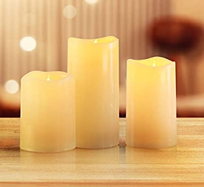 KMSdeco Outdoor Indoor Outdoor LED Candles