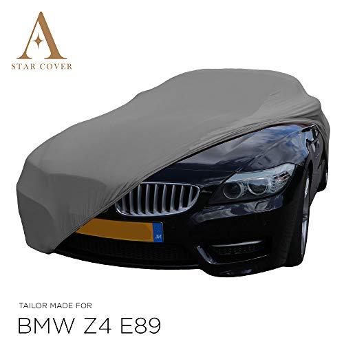 Telo COPRIAUTO da Interno su Misura per BMW Z4 (E89) Grigio GARAGECOVER vestibilità Perfetta E Cover su Misura Consegna Rapida