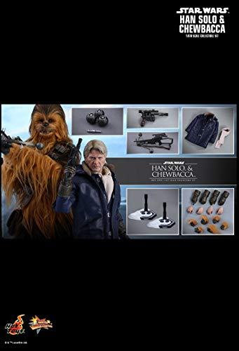Hot Toys MMS376 - Star Wars : The Force Awakens - Han Solo and Chewbacca