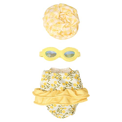 Manhattan Toy 161380 3 Stück Baby Doll Schwimmoutfit, Multicolour