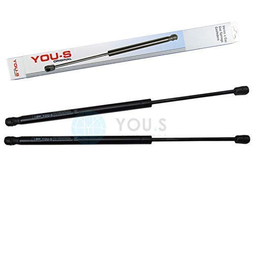 2 x YOU.S Gasfeder für Heckklappe Länge: 480 mm Kraft: 580 N - 2049801164