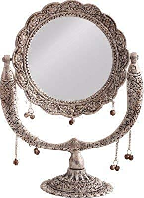 Giant Roots Premium Antique Brass Mirror (5 cm x 21 cm x 29 cm)