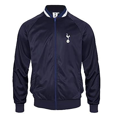 Tottenham Hotspur FC Official Gift Mens Retro Track Top Jacket Navy Medium
