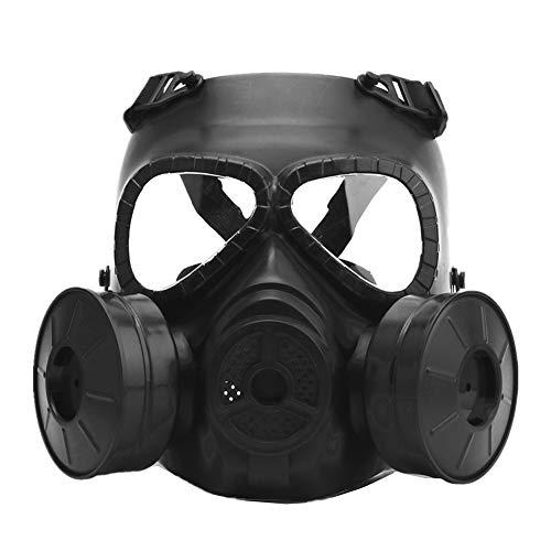 AFfeco M04 - Máscara de protección táctica para Airsoft, máscara de Gas con Correa Ajustable para Pistola BB Gun CS Disfraz de Halloween Masquerade