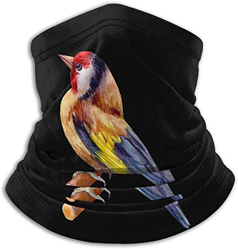 ShiHaiYunBai Halstuch/Kopftuch Beautiful Goldfinch Neck Warmer Microfiber Headwear Face Scarf for Winter Cold Weather Keep Warm Unisex