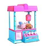Ouqian-BB Garra Toy Grabber la Máquina Que Funciona con Monedas Muñeca Candy Machine con música y luz Entre Padres e Hijos Juguetes interactivos Mini Máquina de Garra