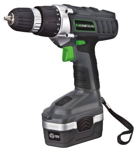 Genesis 18 Volt Variable Speed Drill