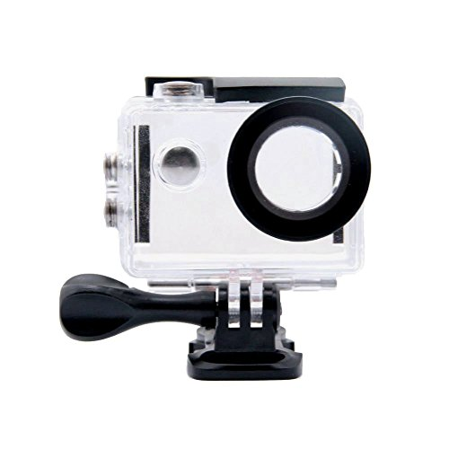 Tekcam - Custodia impermeabile subacquea per action camera Akaso EK7000 Eken H9R Fitfort 4K Dbpower EX5000Sport, protezione fino a 30 m di profondità