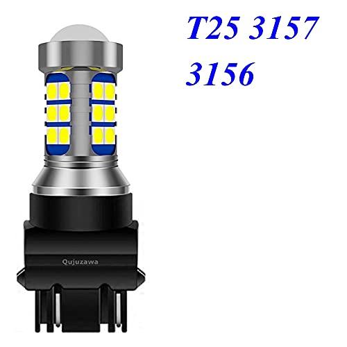 GSDGBDFE 1 unids 1156 BA15S P21W 1157 BAY15D P21 / 5W BAU15S T15 W16W T20 7443 W21 / 5W 7440 W21W T25 3157 LED Lámpara de Reverso de la luz Auto
