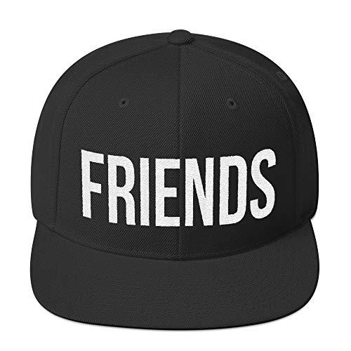 Best Friends Snapback Fashion Style Beste Freunde Partnerlook Lifestyle Kappe Baseball Cap Cooles Design Gestickt Für Damen und Herren
