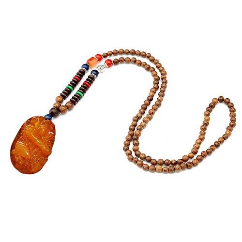Unsex La Vendimia Largo Collares Moldeados Simples Colgante Collar De Regalo Trabajo Hecho a Mano Collar De Perlas Joyas Y Accesorios De Ropa