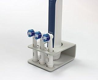 Soporte para cepillo de dientes el/éctrico Fligatto forma triangular, para Oral-B