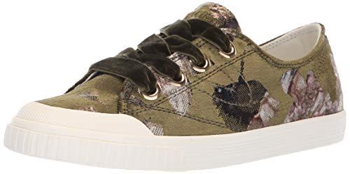 TRETORN Women's MARLEYX4 Sneaker, Dark Green, 7.5